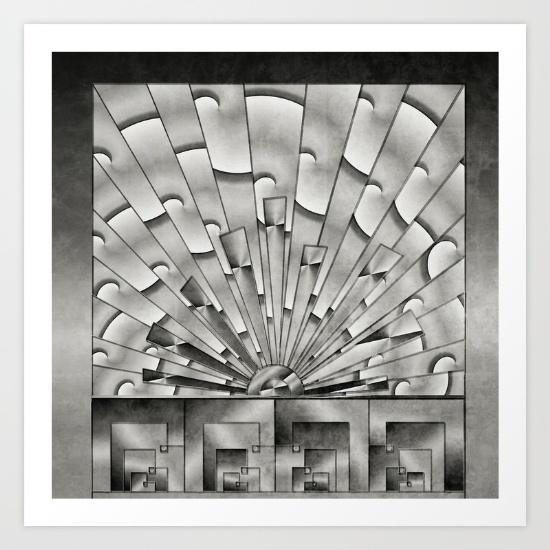 mercury-glass-art-deco-sunburst-prints
