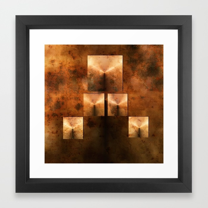 rusted-pyramids-framed-prints