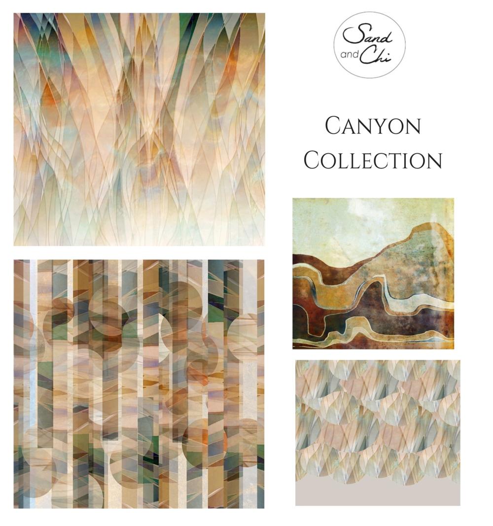 Canyon Collection Presentation Card