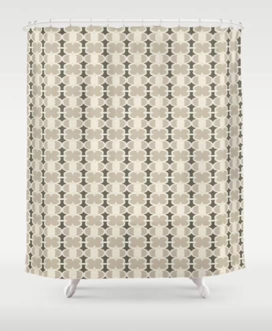 West African Shower Curtain