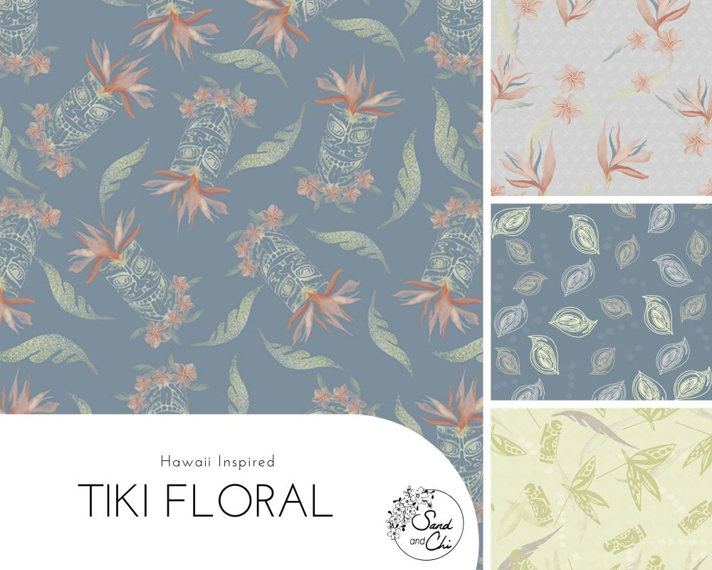 Tiki Floral Collection